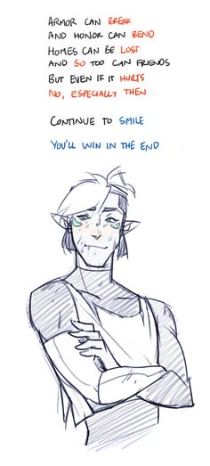 Have an Altean Shiro~    And for all my followers who are feeling down, out, frustrated, lonely, or sad, keep on smiling. You are loved. You are needed. You are strong. Sending a little bit of courage your way~ thank you!