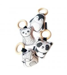 Cute Animal Rattle Set For Babies