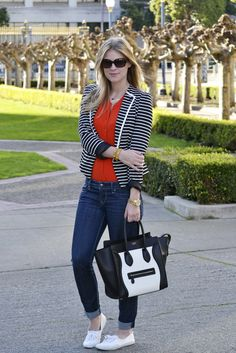Britt + Whit: Black & White Stripes.