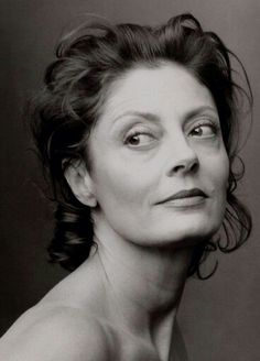 Susan Sarandon, one of those rare celebrities who deserves respect for her ideals as well her acting...