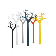 Wall mounted or free standing coat stand in various colours...