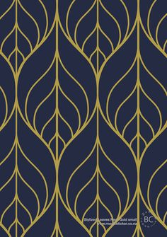 Removable Wallpaper, Leaf wallpaper, Leaf, Peel&Stick, Reusable wallpaper…