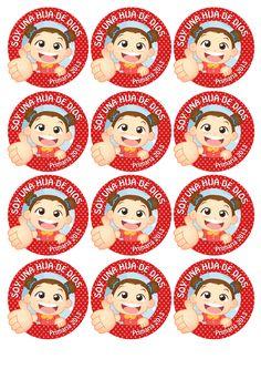 Distintivos para niñas!! =D