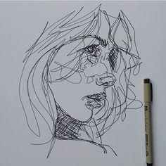 visages d artiste dessines | 1000 idées sur le thème Continuous Line Drawing sur Pinterest ...