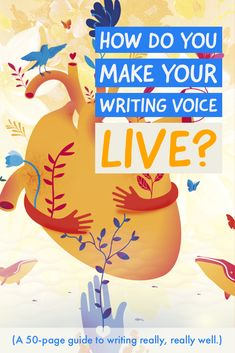 This guide teaches you how to develop your writing voice, step by step. Teaching Writing, Writing A Book, Book Proposal, Blog Writing Tips, Good Sentences, Indie Books, Writing Exercises, Writing Styles, Screenwriting