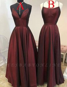 Burgundy Party Dress Long Prom Dress, Simple Evening Dress on Luulla A Line Prom Dresses, Prom Dresses Online, Long Bridesmaid Dresses, Cheap Prom Dresses, Homecoming Dresses, Evening Dresses, Dress Prom, Party Dresses, Formal Dresses