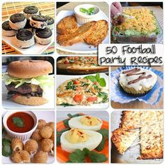 50 Fabulous gluten free Football Party Recipes. Was just looking for tailgate ideas today!