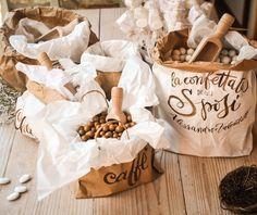 confettata Country Chic la borsa della sposa wedding stationery @calligraficaluna  calligraphy