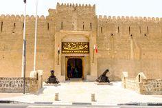 Fachada do Dubai Museum