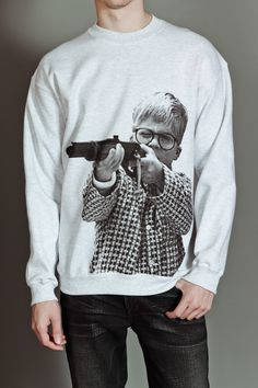 Ralphie Sweatshirt  @Elizabeth Lockhart Salstrand, this is something I would love to buy dad as a gag gift!!