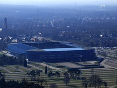 Cristal Arena in Genk. This stadium is home to the football club KRC Genk