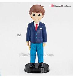 Figura Niño Comunión Traje Azul Boys, Fictional Characters, Navy Jacket, Pant Suits, Jackets, Blue Nails, Baby Boys, Senior Boys, Fantasy Characters
