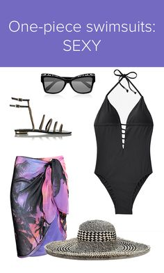 5 stylish ways to rock a one-piece swimsuit this summer