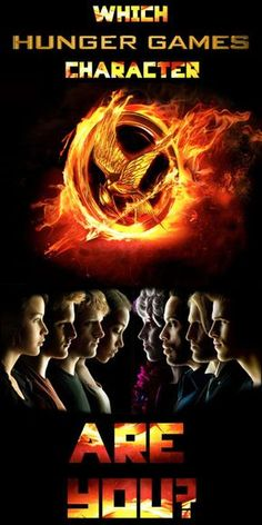 "Which ""Hunger Games"" Character Are You? Am Katniss"