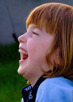 Siobhan laughs out loud by Vanessa Pike-Russell, via Flickr