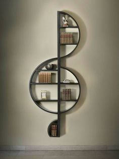 Although you can't fit a lot into these shelves, I think this would be a beautiful way to display some favourites in a common room in the house that you want to draw attention to. These shelves almost scream out to a visitor to come and take a look!
