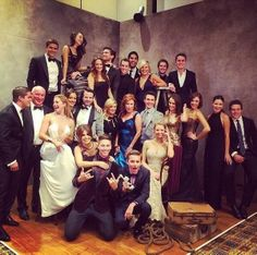 Home & Away cast celebrate show winning a Silver Logie