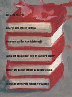 Om echt te lezen - Herman de Coninck / beeld: Olphaert den Otter ⓒ plint