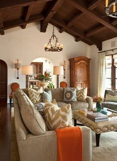 Prodigious Tips: Living Room Remodel On A Budget Cabinet Colors small living room remodel sofa tables.Living Room Remodel Ideas Fixer Upper living room remodel on a budget window treatments.Living Room Remodel With Fireplace Light Fixtures. Living Room Remodel, Home Living Room, Living Room Designs, Living Room Decor, Home Design, Diy Design, Design Ideas, Spanish Style Homes, Spanish Colonial