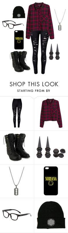"""""""Untitled #222"""" by worthlesschild ❤ liked on Polyvore featuring H&M"""