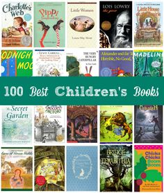 Is your child an avid reader? You'll want to check out Amazon's extensive list of 100 Children's Books to Read in a Lifetime.