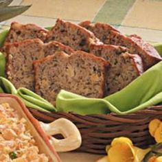 Pineapple Banana Bread with Walnuts Recipe -This versatile bread can be enjoyed as a breakfast treat or simple dessert. My mother gave me the recipe. It was one of her church potluck favorites. It freezes well, too.—Grace Gibbons, Melbourne, Florida