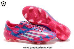 best service de603 1e3b6 TRX FG Adidas F50 AdiZero (Pink White Blue)
