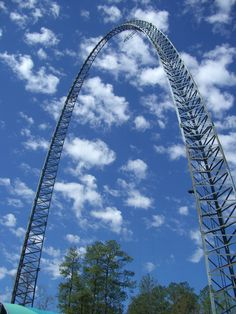 The Skyflyer!  My first experience at falling through the sky!  Good times!