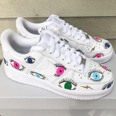 Air Force Sneakers, Nike Air Force, Sneakers Nike, Shoes, Color, Fashion, Nike Tennis, Moda, Zapatos