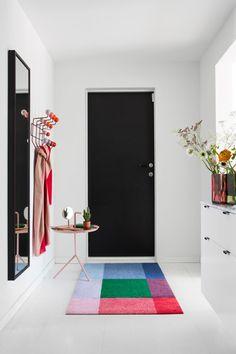Dørmatte designet av Kristine Five Melvær for Heymat