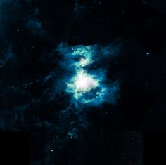 Orion nebula: Changes color because of the gases in majority at time of photo.