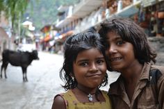Kids in Manali, India. (Taken by Hannah Poole) #photojournalism #India
