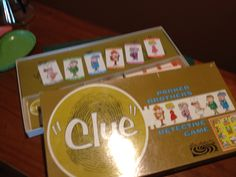 1963 version of clue.