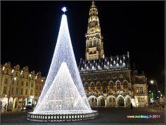 Arras : Place des Héros Noël 2011 photo nordmag-2011 Calais France, French Christmas, Photos, Places, Beautiful Places, Fonts, Nord Pas De Calais, Cities, Tops