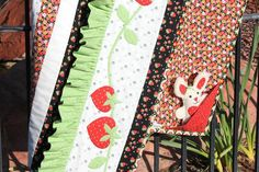 Looking for your next project? You're going to love Strawberry Rows by designer Just Carol.
