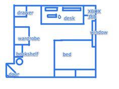 bedroom design layout templates - Bedroom Design Template