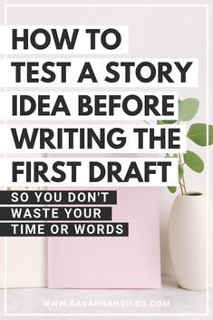 How to Test an Idea Before Writing the First Draft Do you have an idea for a novel? Before you start writing, here are two exercises that will help you test out your story idea before penning the first draft! Creative Writing Tips, Book Writing Tips, Writing Resources, Start Writing, Writing Help, Writing Skills, Writing Prompts, Creative Writing Exercises, Writing Classes