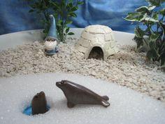 Seal Friends for Winter Wonderland Fairy Garden by WeeBrigadoon