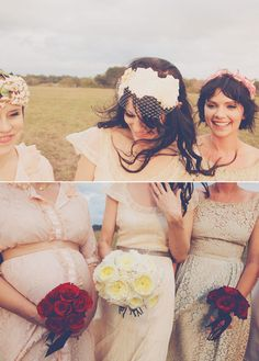 beautiful bleubird vintage wedding