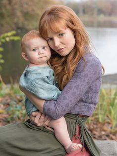 Hunger Games' Annie Cresta and Odesta baby. This is the picture she gives Katniss at the end of Mockingjay.