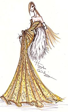 Wishing all the followers of my Tumblr a very Happy New Year!! To celebrate the start of 2011, here is my new creation: The Champagne Dress! ~Hayden~