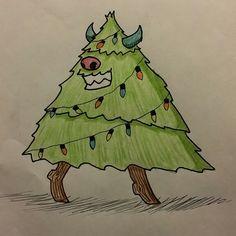 Christmas Monster seating Christmas Cheer