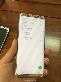 Une nouvelle photo du Samsung Galaxy S8 Plus écran allumé apparait sur le web - http://www.frandroid.com/marques/samsung/417577_une-nouvelle-photo-du-samsung-galaxy-s8-plus-ecran-allume-apparait-sur-le-web  #Marques, #ProduitsAndroid, #Samsung, #Smartphones