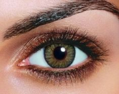 smoky eye with grey shadows for green eyes | Hazel Eye color with Brow Eye shadow