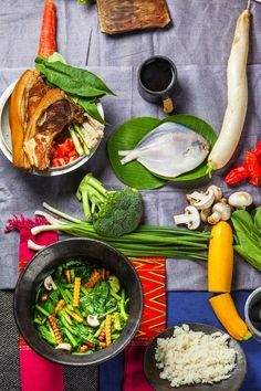 Your guide to Northeast Indian food: A Northeast Indian meal typically includes rice, protein and lots of veggies. Photograph: Vidura Jang Bahadur #India #food
