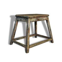 Ensemble table bureau et chaise vintage en bois cintr for Ambiance tables et chaises reims