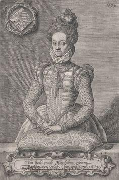 Madeleine de Clèves-Juliers-Berg, duchesse palatine de Deux-Ponts
