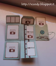 Scundy Scrap and Handmade: Mini album Voyage