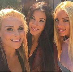 Natalya, Rosa Mendes, Amanda Saccomanno