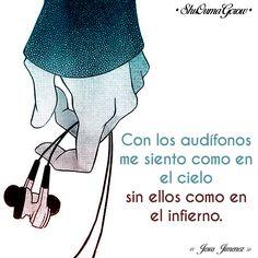 Con los audífonos #ShuOumaGcrow #Anime #Frases_anime #frases
